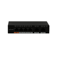 4 Port POE Switch 60W (LTPOE-S60-4)