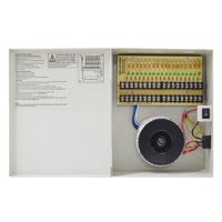 18CHx500MA 10AMP MAX 24vac power supply.